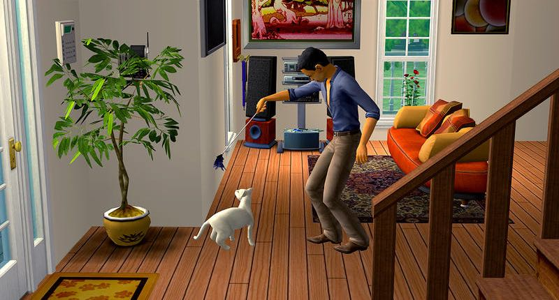 Sims 2 Pet Stories for OS X Mac screenshot 005