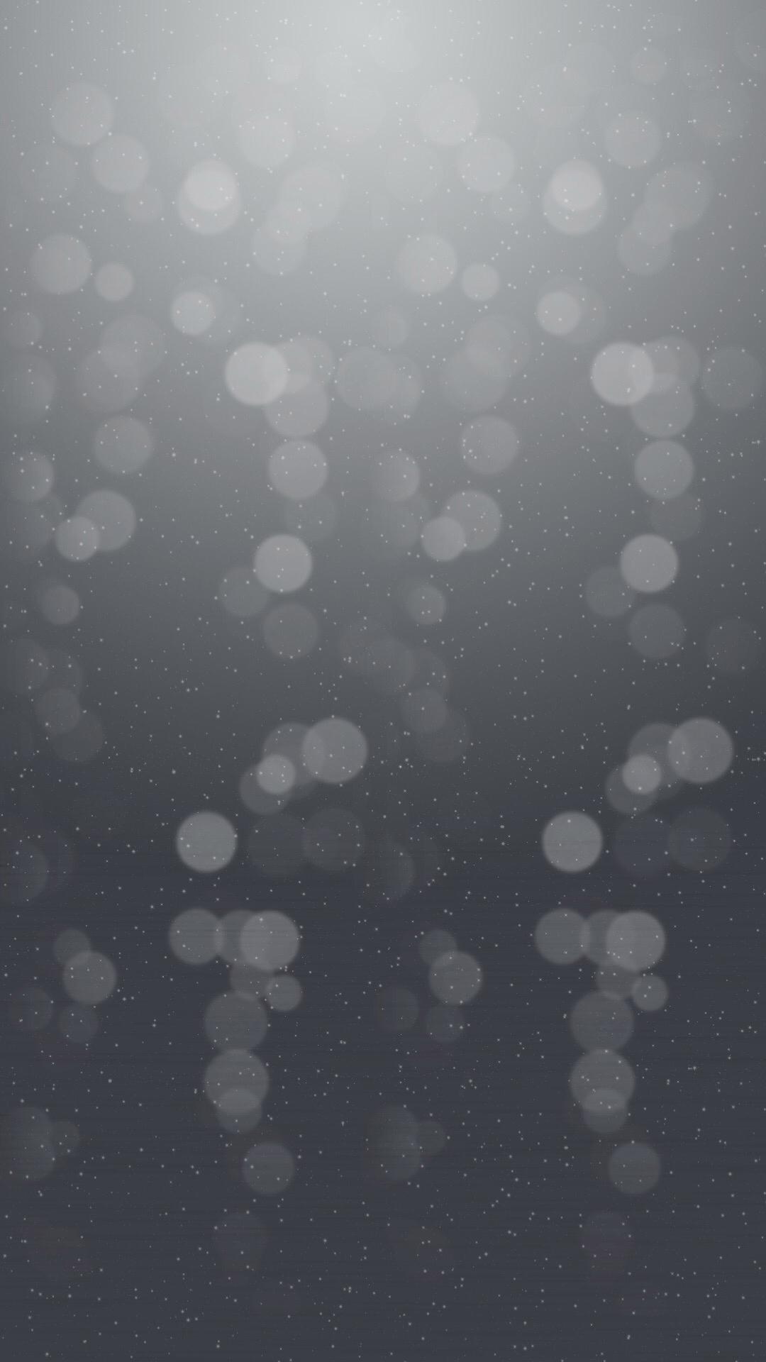 Snow Bokeh iPhone Wallpaper AR7