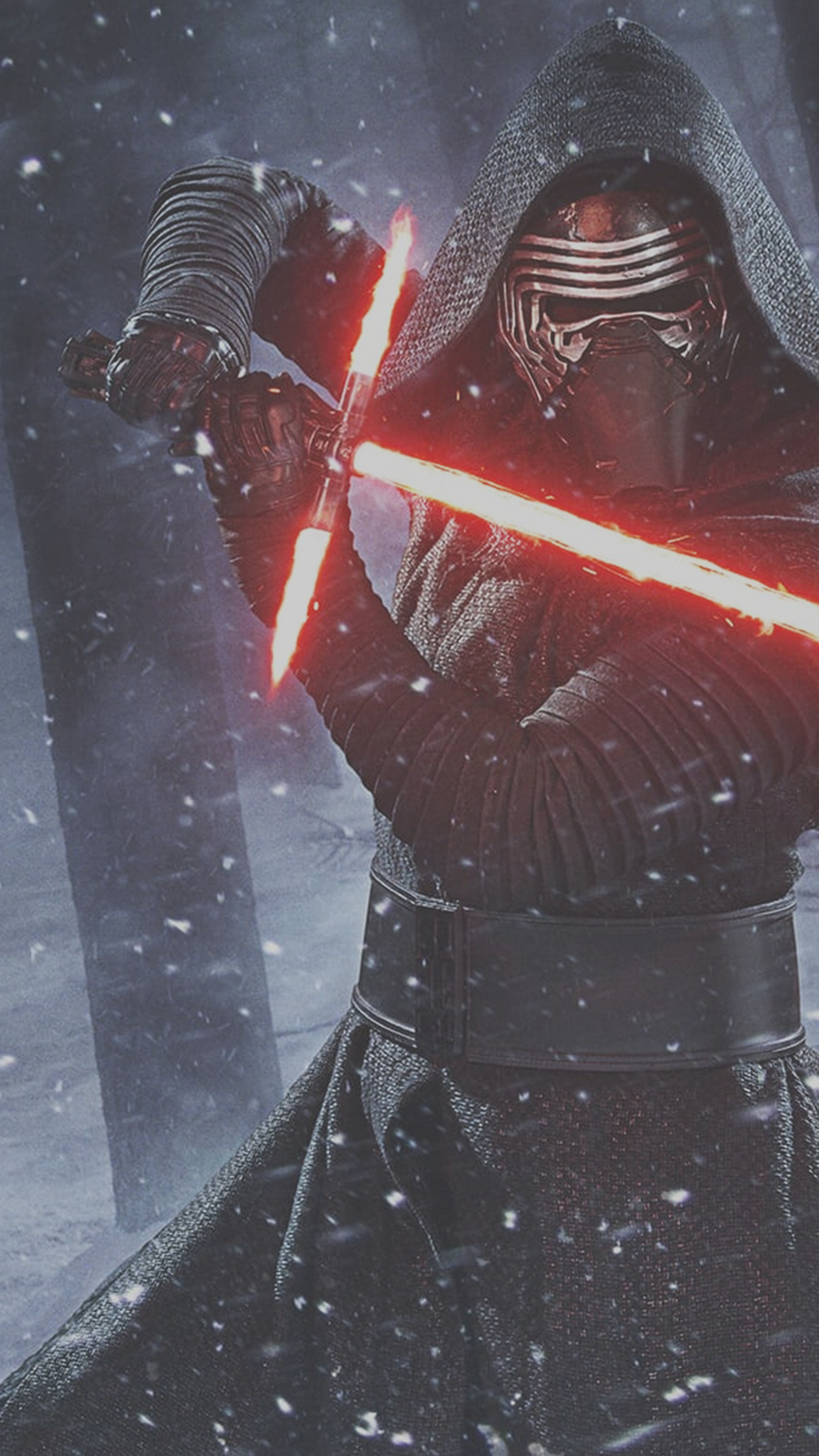 Star Wars The Force Awakens Kylo Ren Lightsaber Wallpaper iDeviceArt