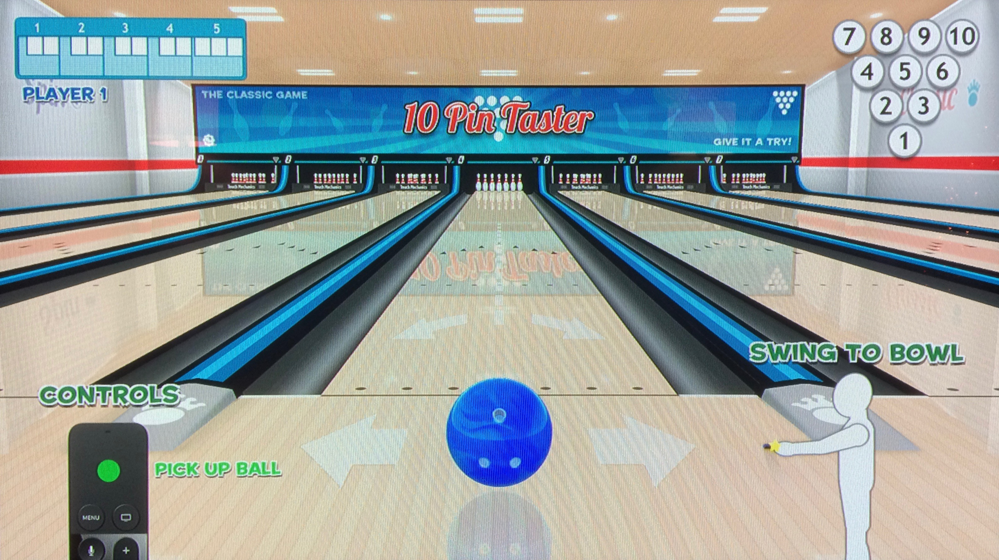Strike Ten-Pin Bowling Apple TV