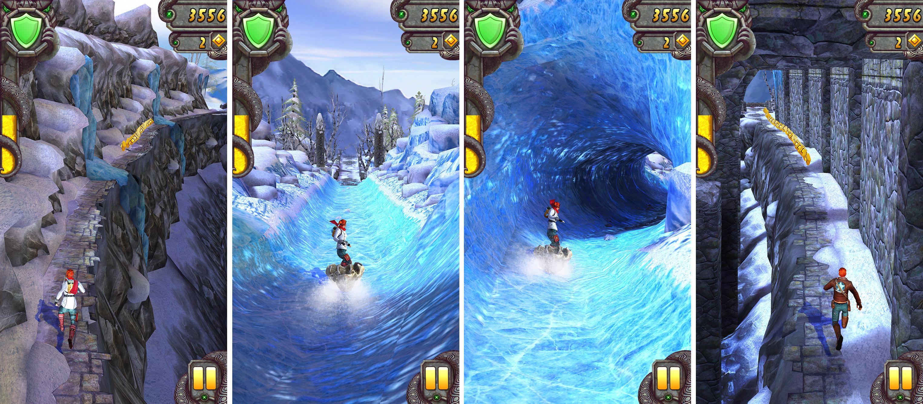 Captura de pantalla 002 de Temple Run 2 Frozen Shadows para iPhone