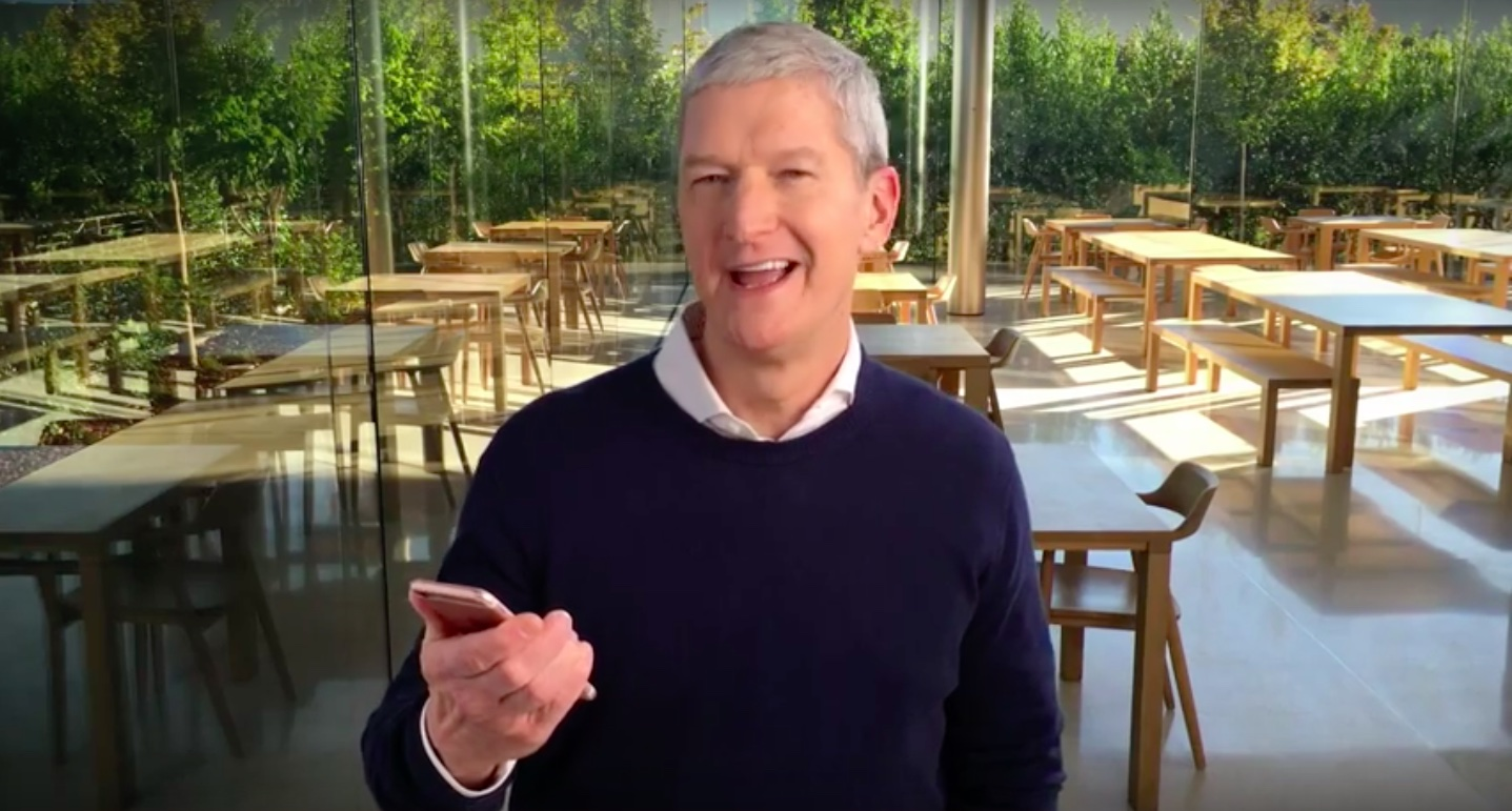 Tim Cook Cerebral Palsy Foundation video message teaser 001