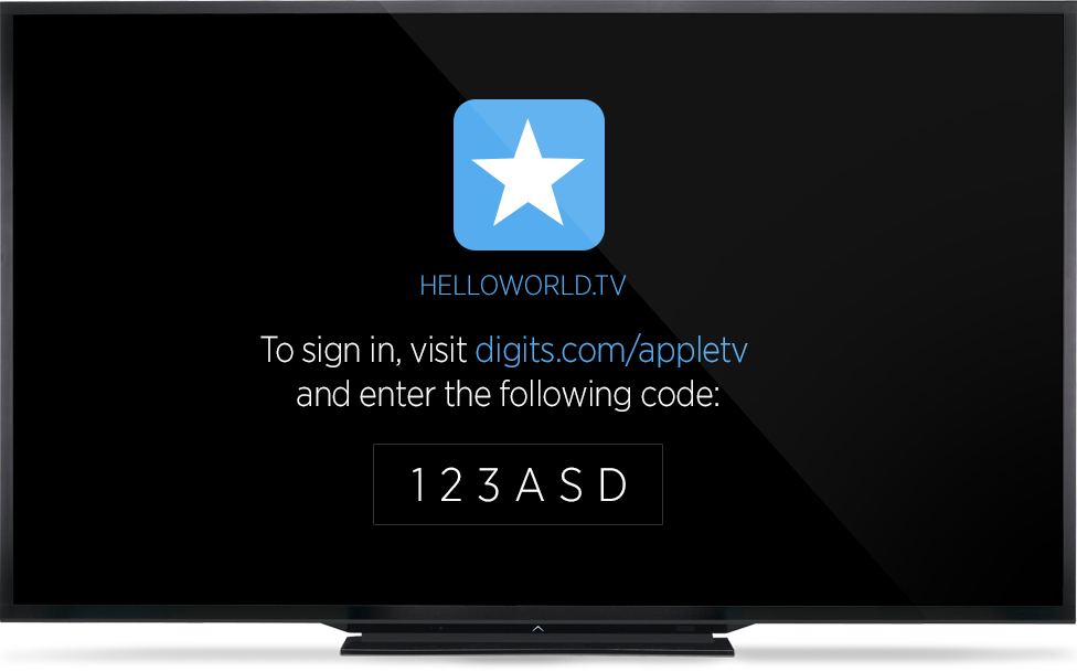 Twitter Digits for tvOS image 002