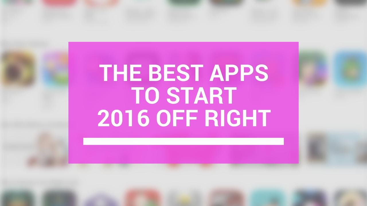 aplicaciones comienzan 2016