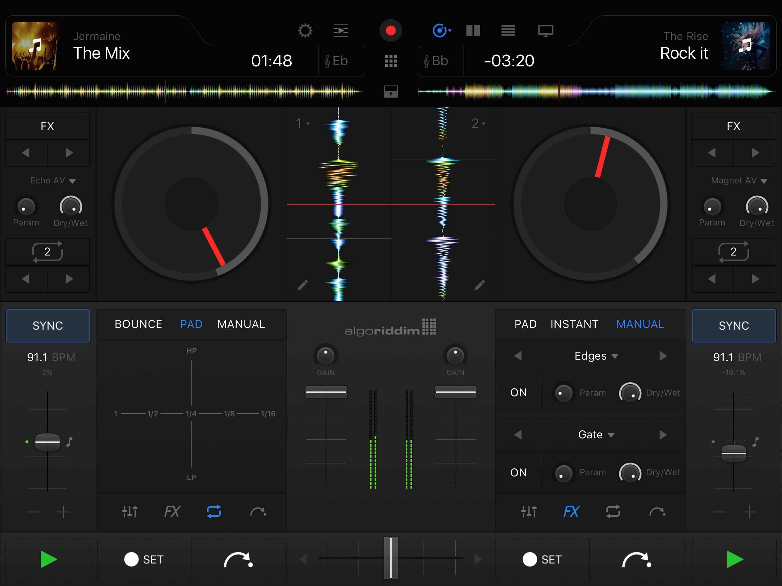 djay Pro 1.0 for iOS iPad screenshot 004