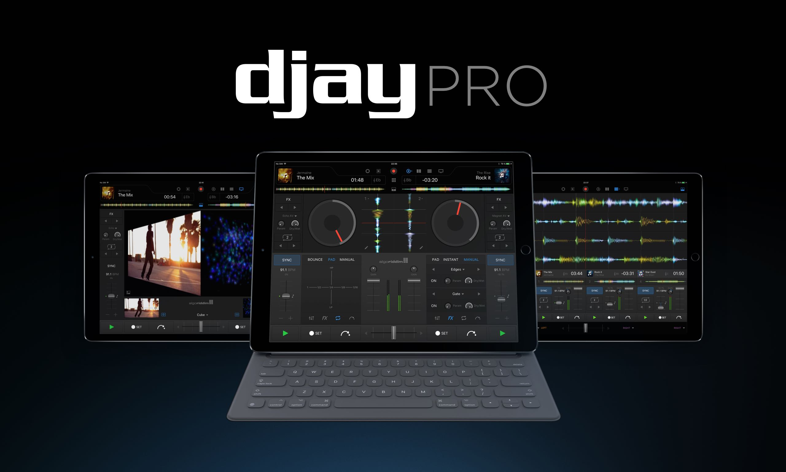 djay Pro 1.0 for iOS teaser 001