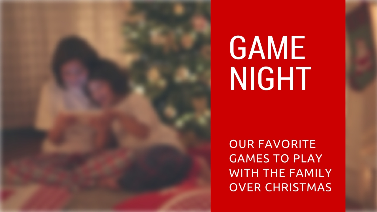 10 games to play with the family over christmas - Family Games To Play At Christmas