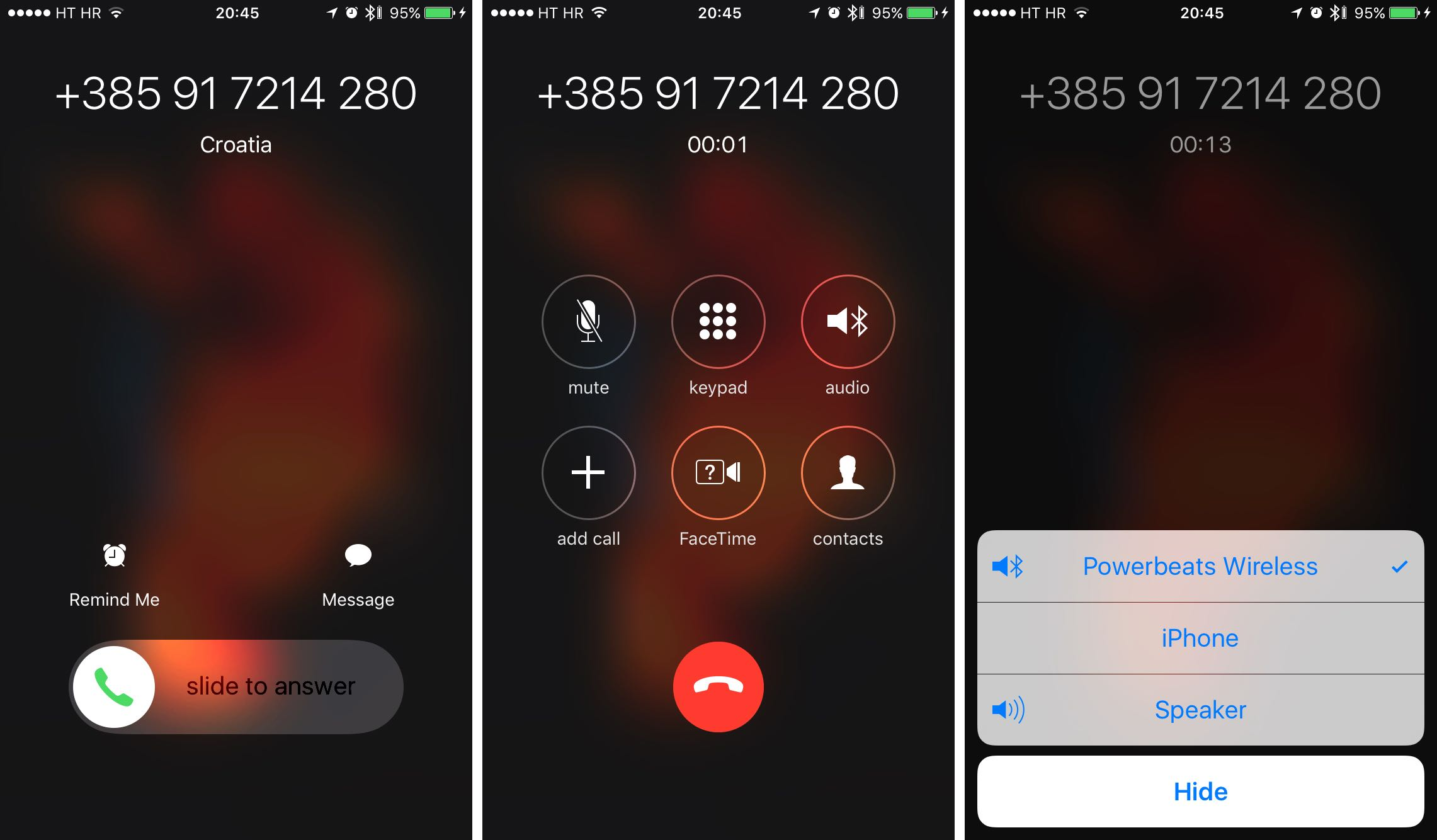 how to route iPhone calls Bluetooth screenshot 004
