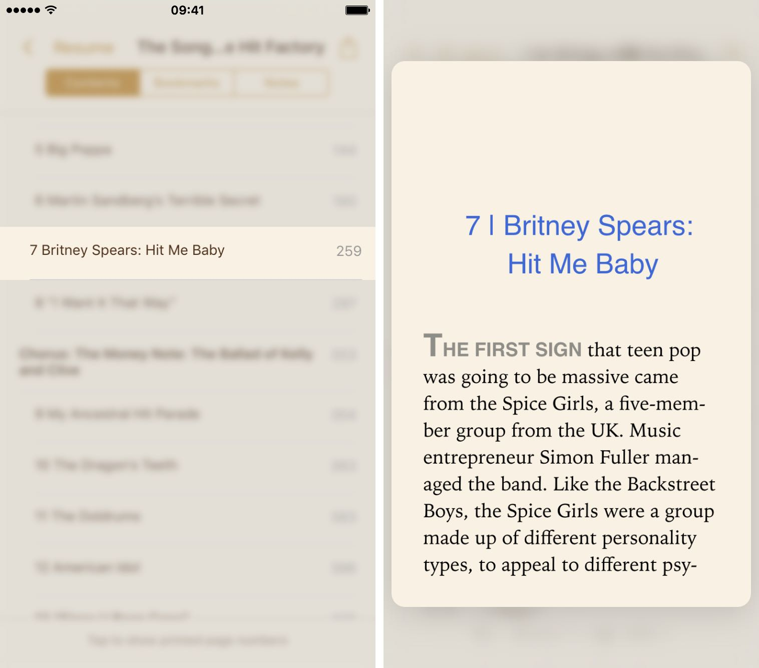 iBooks for iOS 9.2 3D Touch iPhone 6s screenshot 005