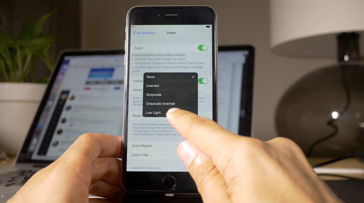 How To Dim Iphone Screen Brightness Levels Below The Normal Threshold