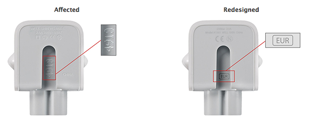 Apple Issues A Recall Of Ac Wall Plug Adapters In Some Countries Announces Exchange