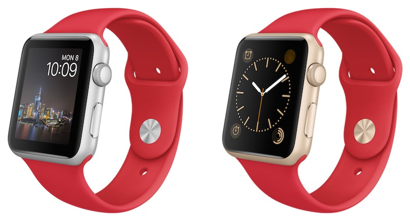 Apple Watch Sport red band Chinese New Year
