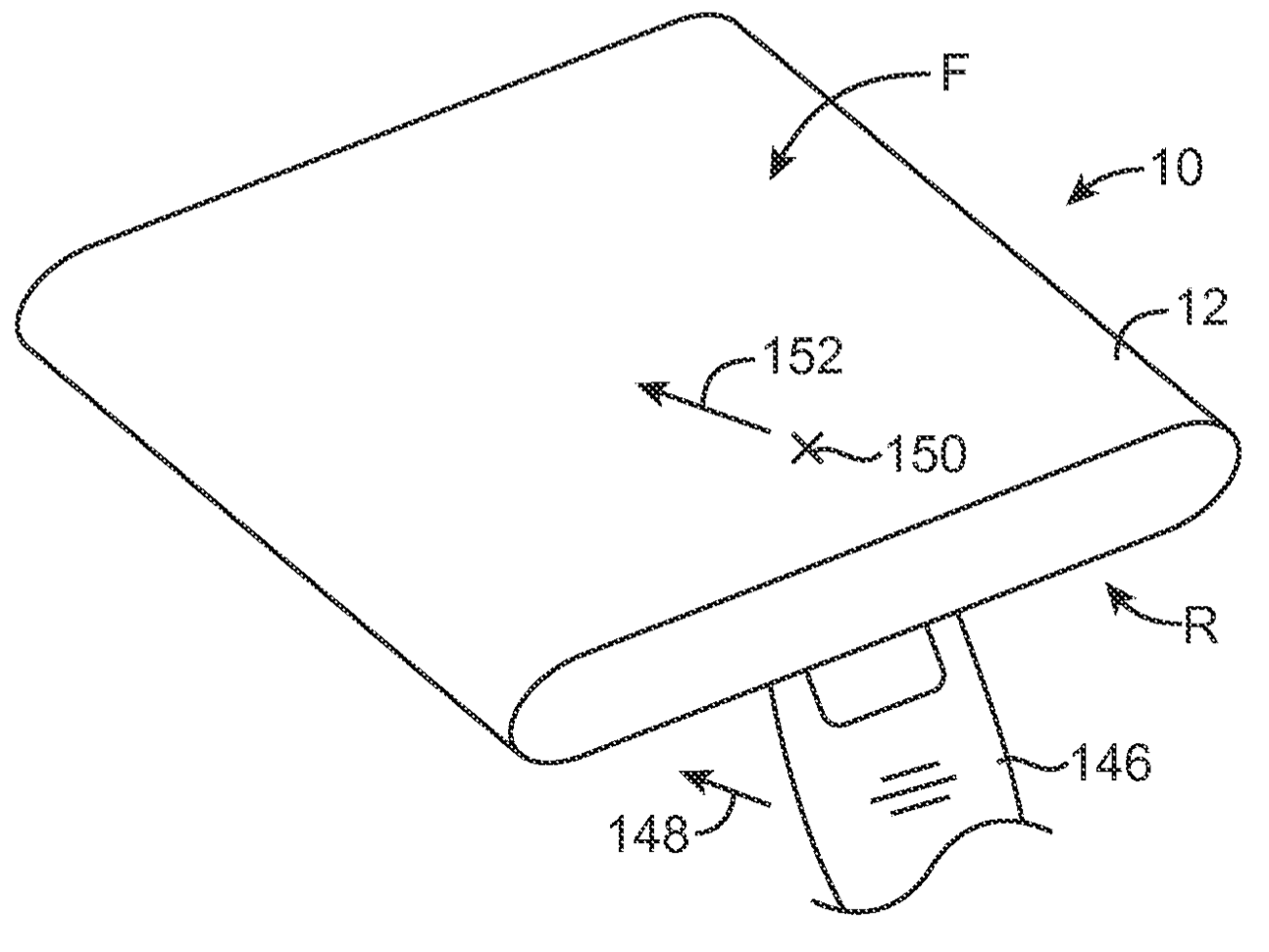 Apple patent iPhone wraparound display drawing 002