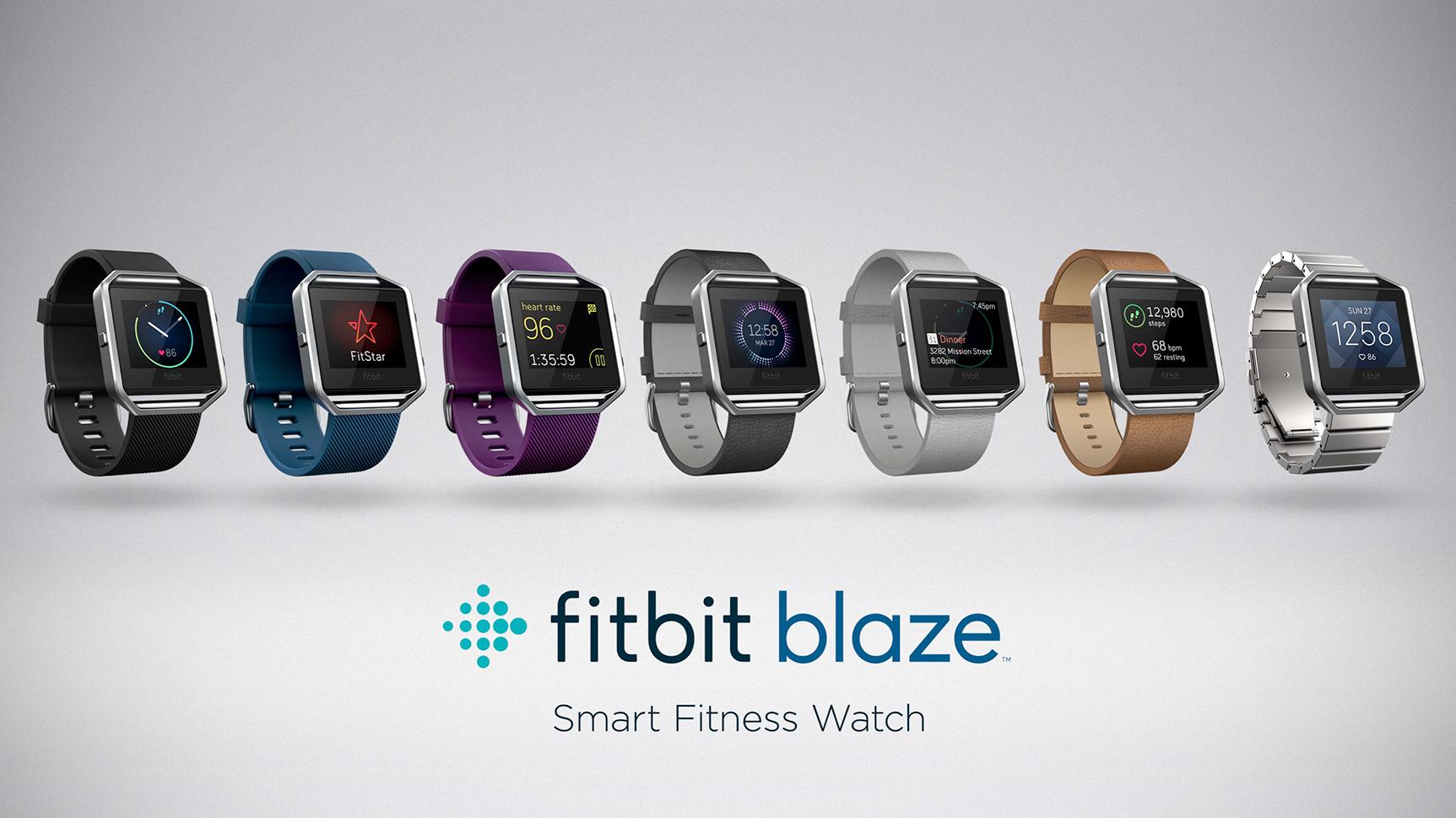 FitBit Blaze lineup image 001