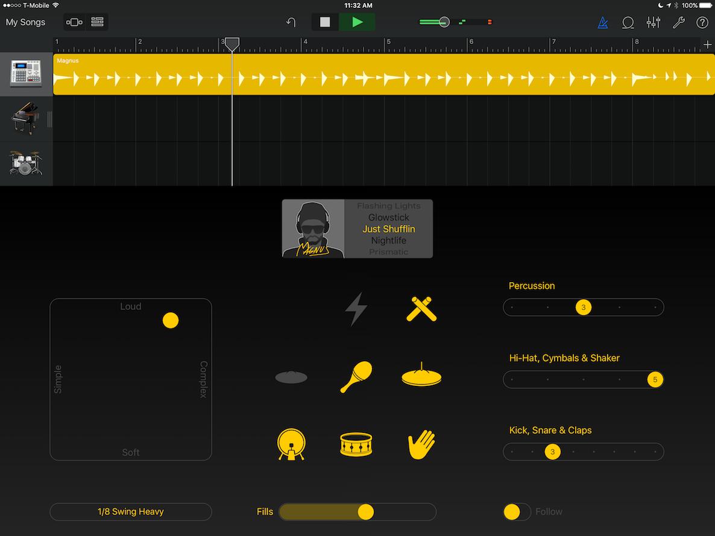 GarageBand 2.1 2