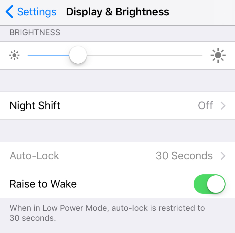 How to fix greyed out Auto-Lock setting on iPhone