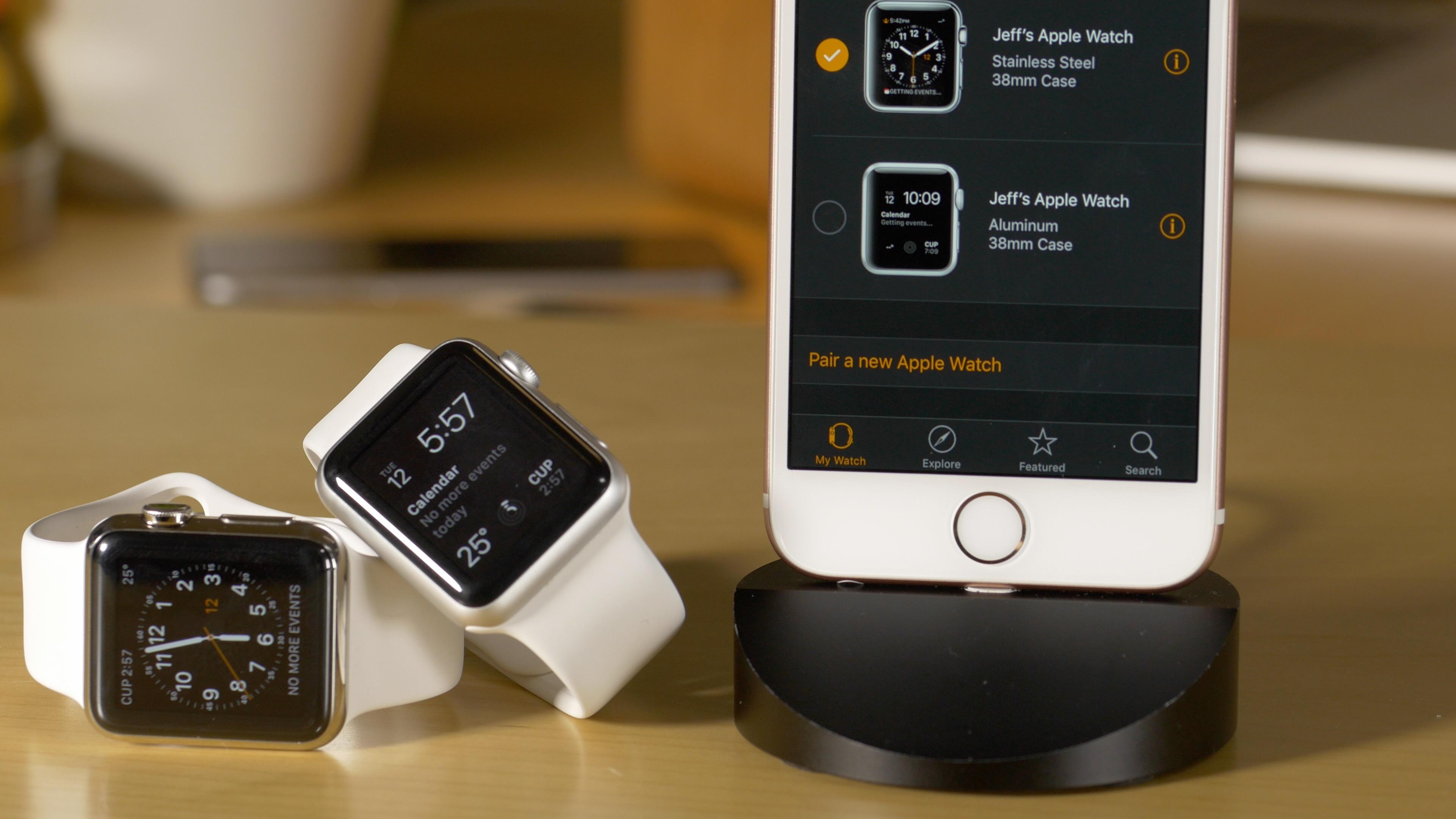 Multiple Apple Watch Pairing