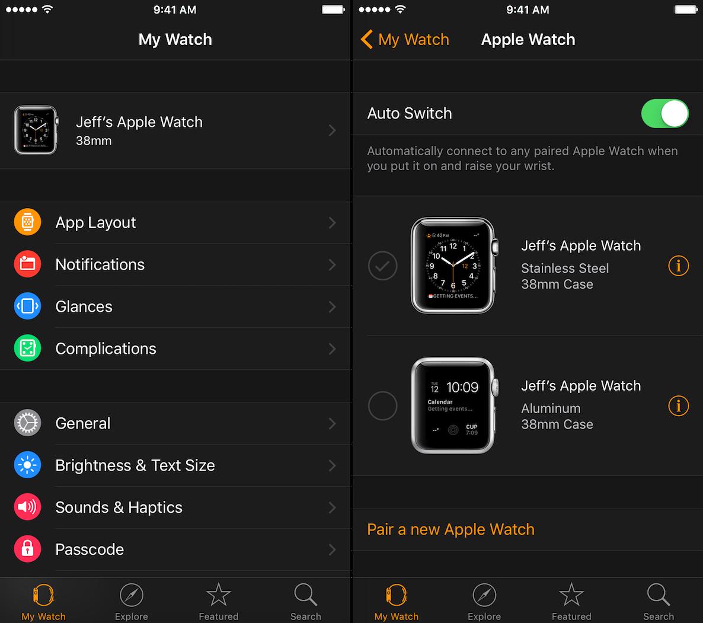 Pair Multiple Apple Watch