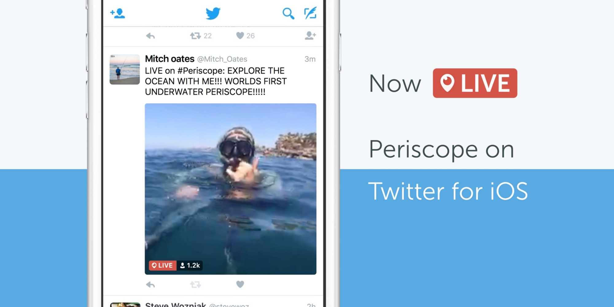 Periscope Twitter integration teaser 001