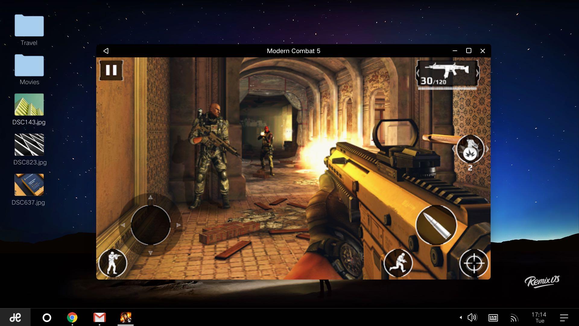 Remix OS games Mac screenshot 001