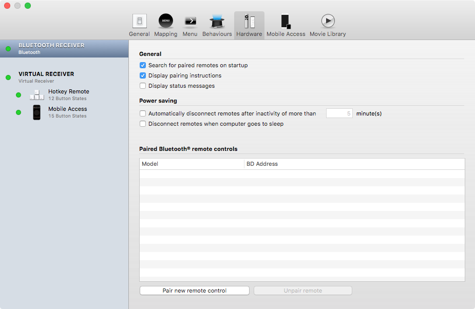 Remote Buddy for OS X Mac screenshot 003
