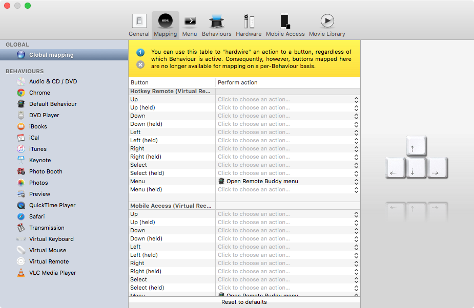 Remote Buddy for OS X Mac screenshot 004