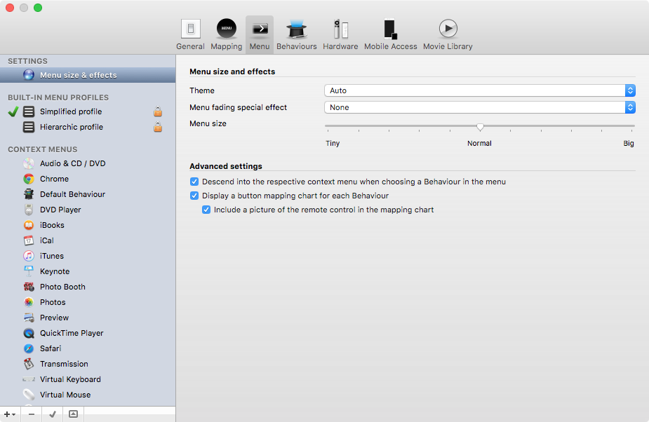 Remote Buddy for OS X Mac screenshot 005