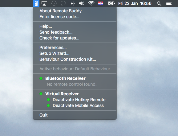 Remote Buddy for OS X Mac screenshot 007