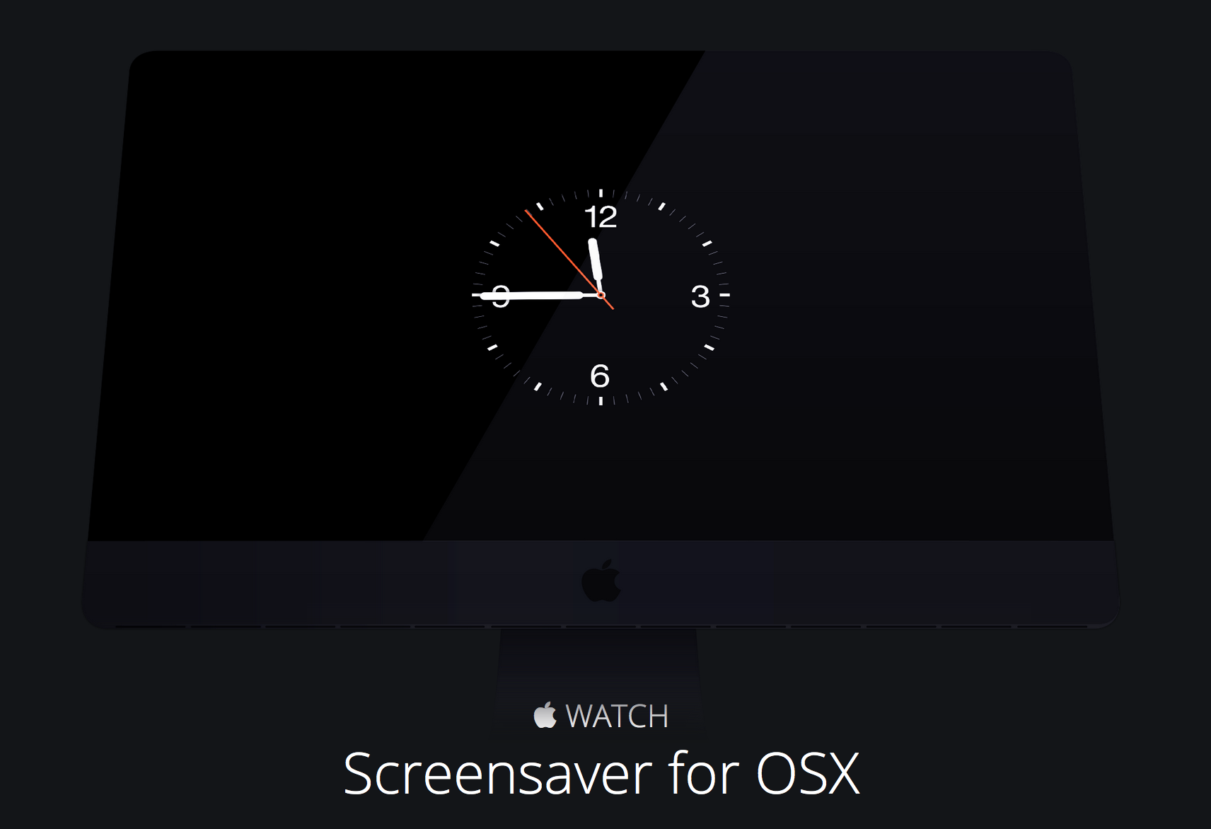 apple watch screensaver for mac