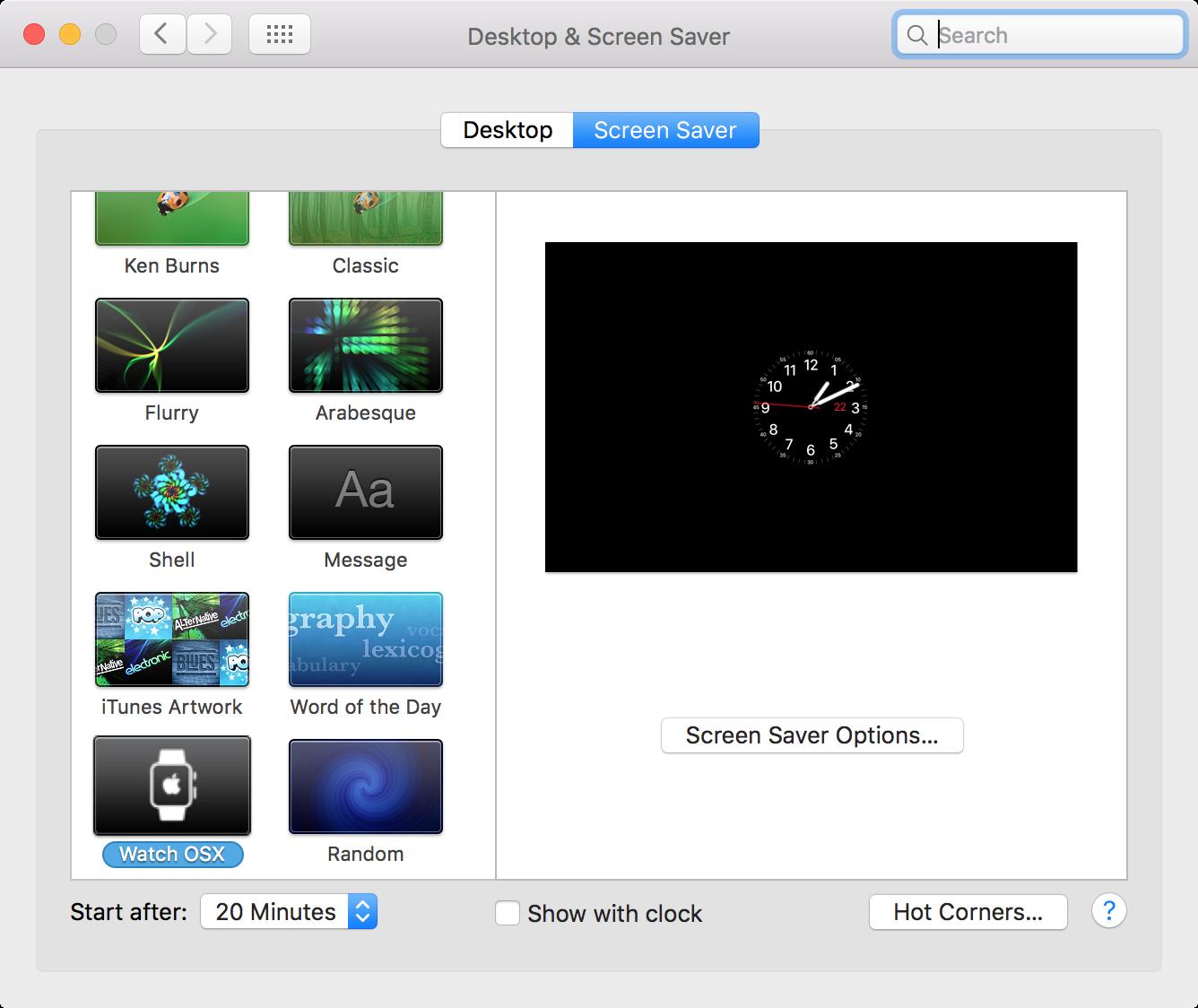 protector de pantalla de Apple Watch para la configuración de Mac 1