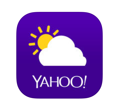 yahoo weather app icon