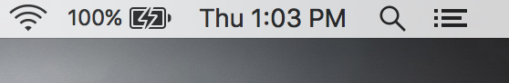 mac menu bar digital clock