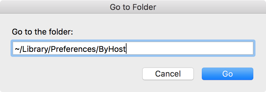 mac menu bar go to folder delete bluetooth plist