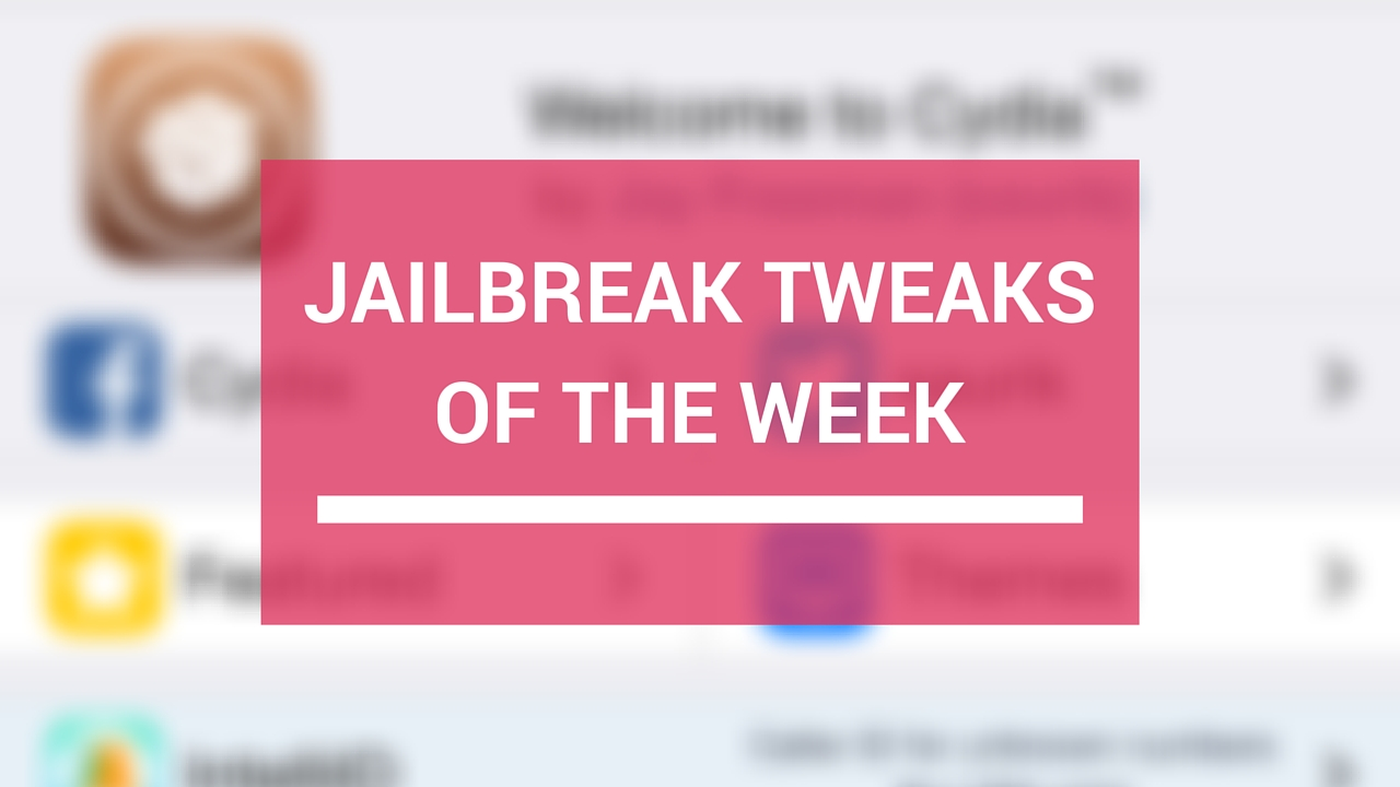 Jailbreak tweaks of the week: Maple 2, Watermelon, and more…