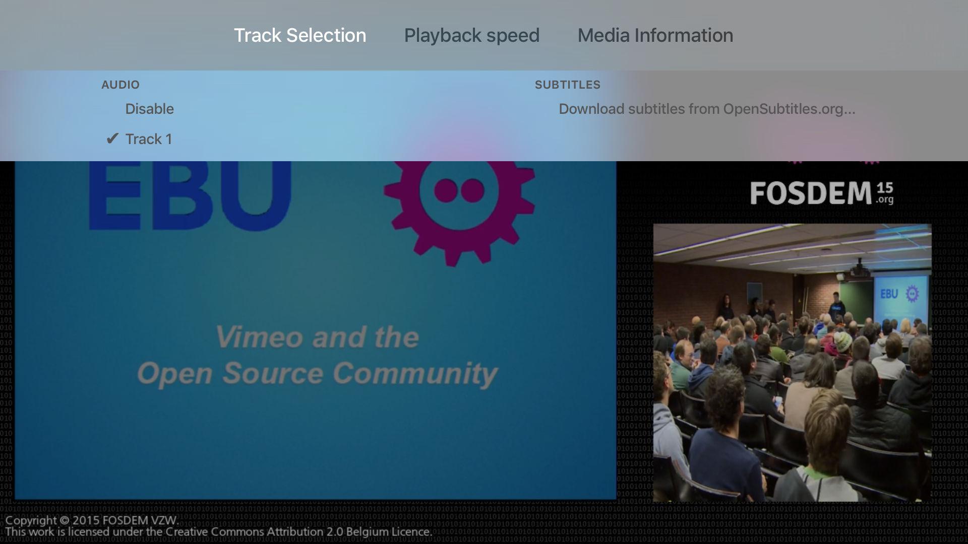 VLC for Apple TV tvOS screenshot 004