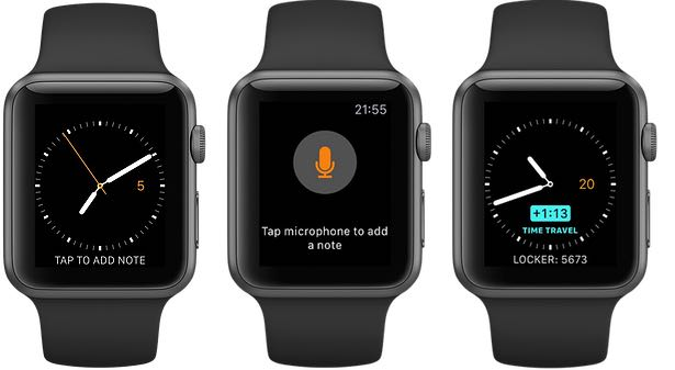WatchNotes 1.0 for watchOS Apple Watch screenshot 001
