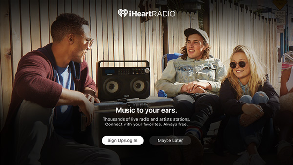 iHeartRadio for Apple TV teaser 001