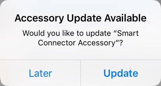 iOS 9.3 beta 2 accessory firmware update iPad Pro Smart Connector screenshot 001