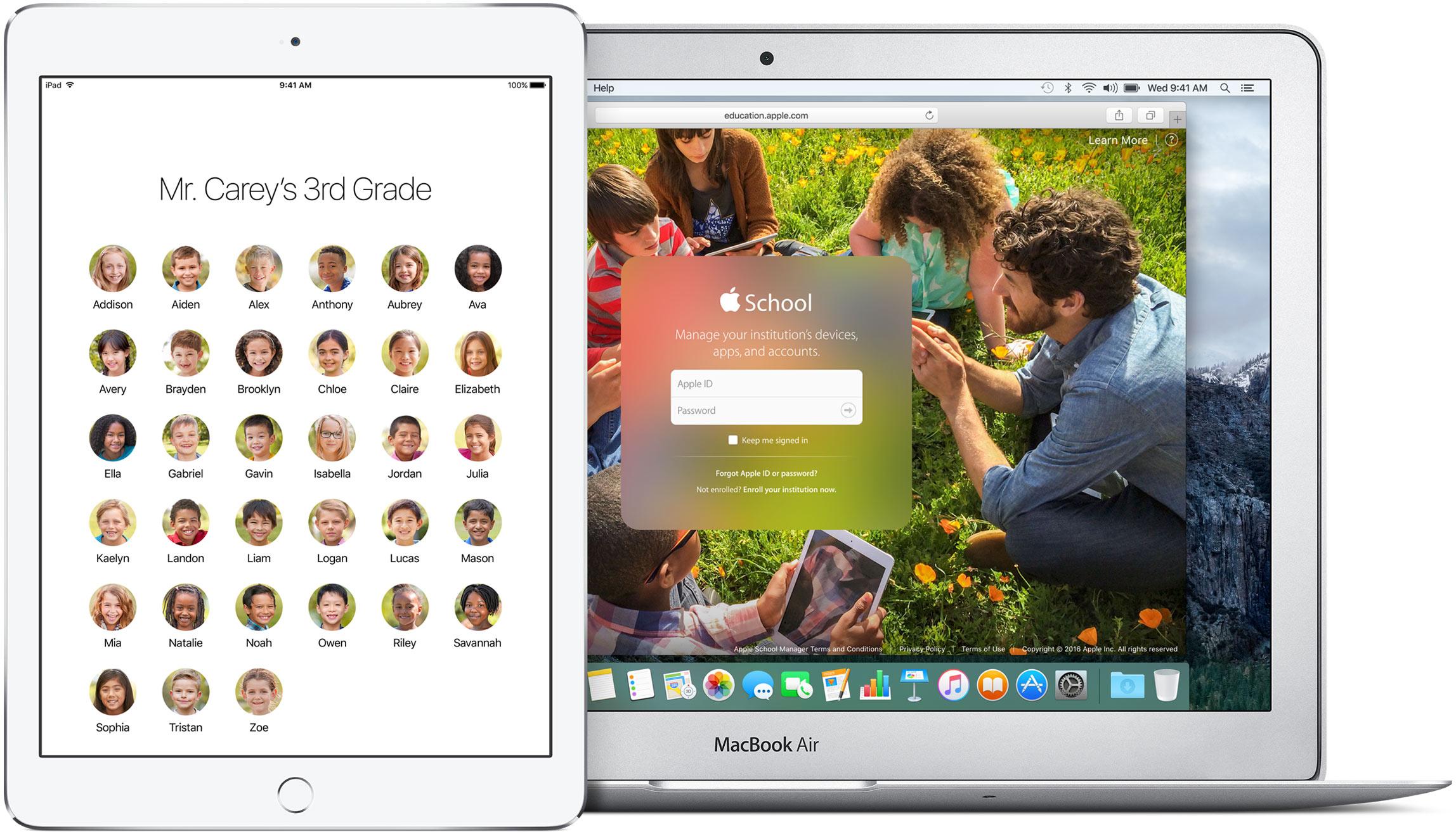 iOS 9.3 multiple Apple ID eduction teaser 001