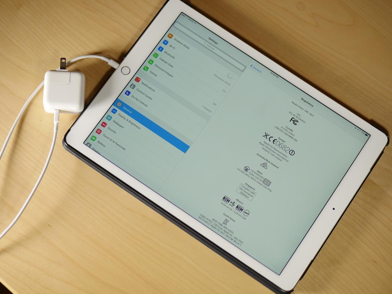iPad Pro Regulatory Charger 29W