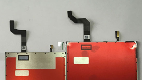 iPhone 7 display backlight leak image 003