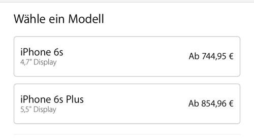 iPhone iPad price increase Germany