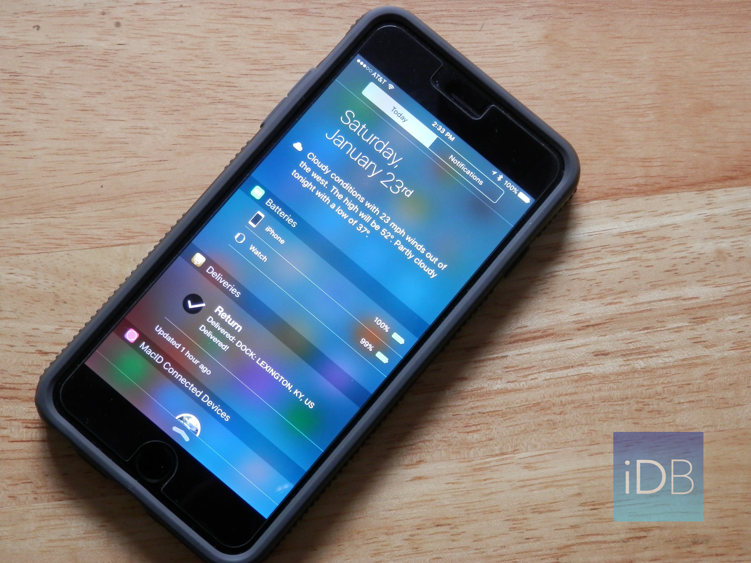 my favorite notification center widgets for ios 9