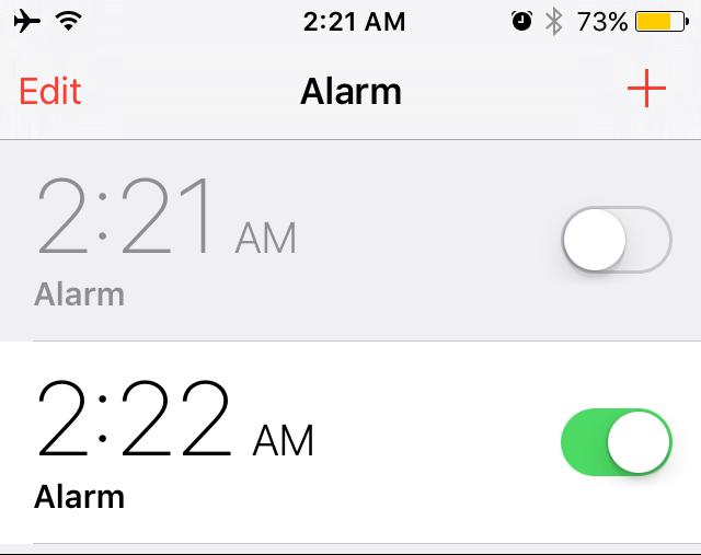 spotalarm new alarm