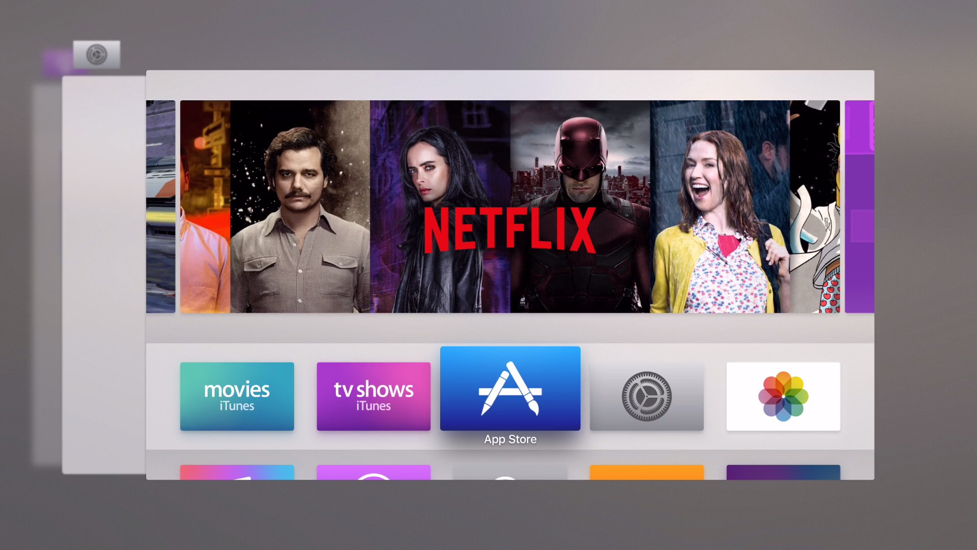 tvOS 9.2 beta 1 App Switcher