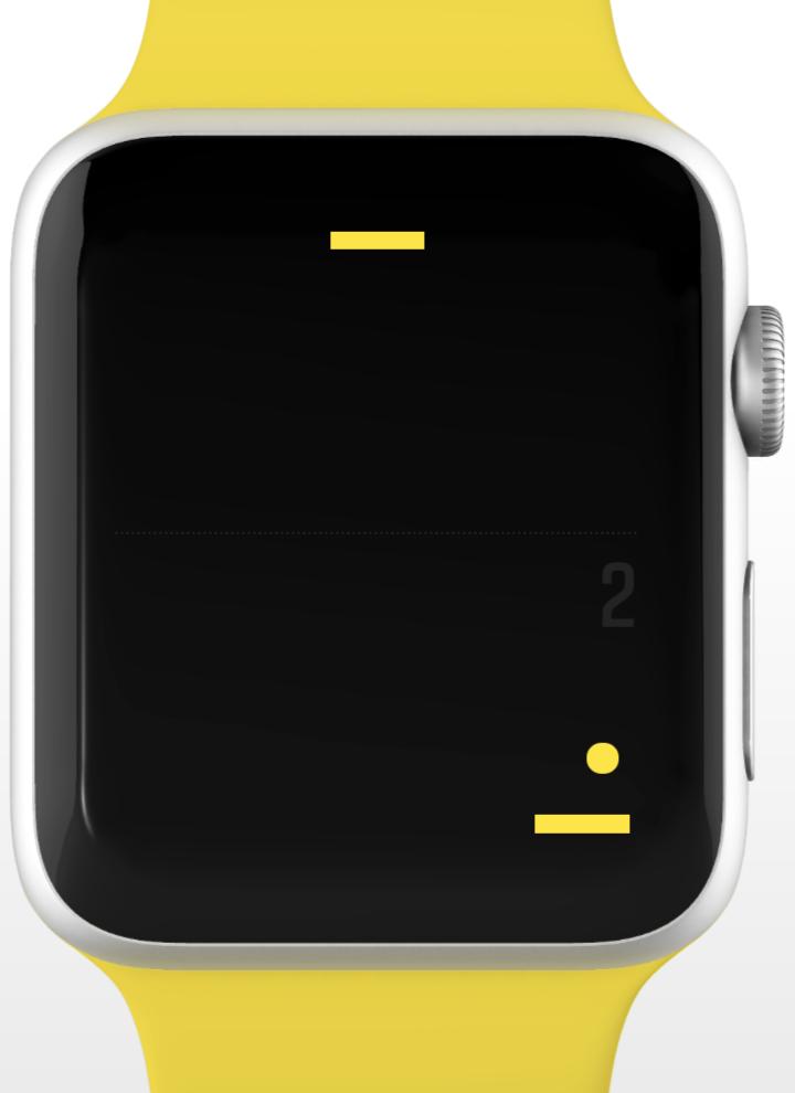 Un pequeño juego de Pong para Apple Watch teaser 001
