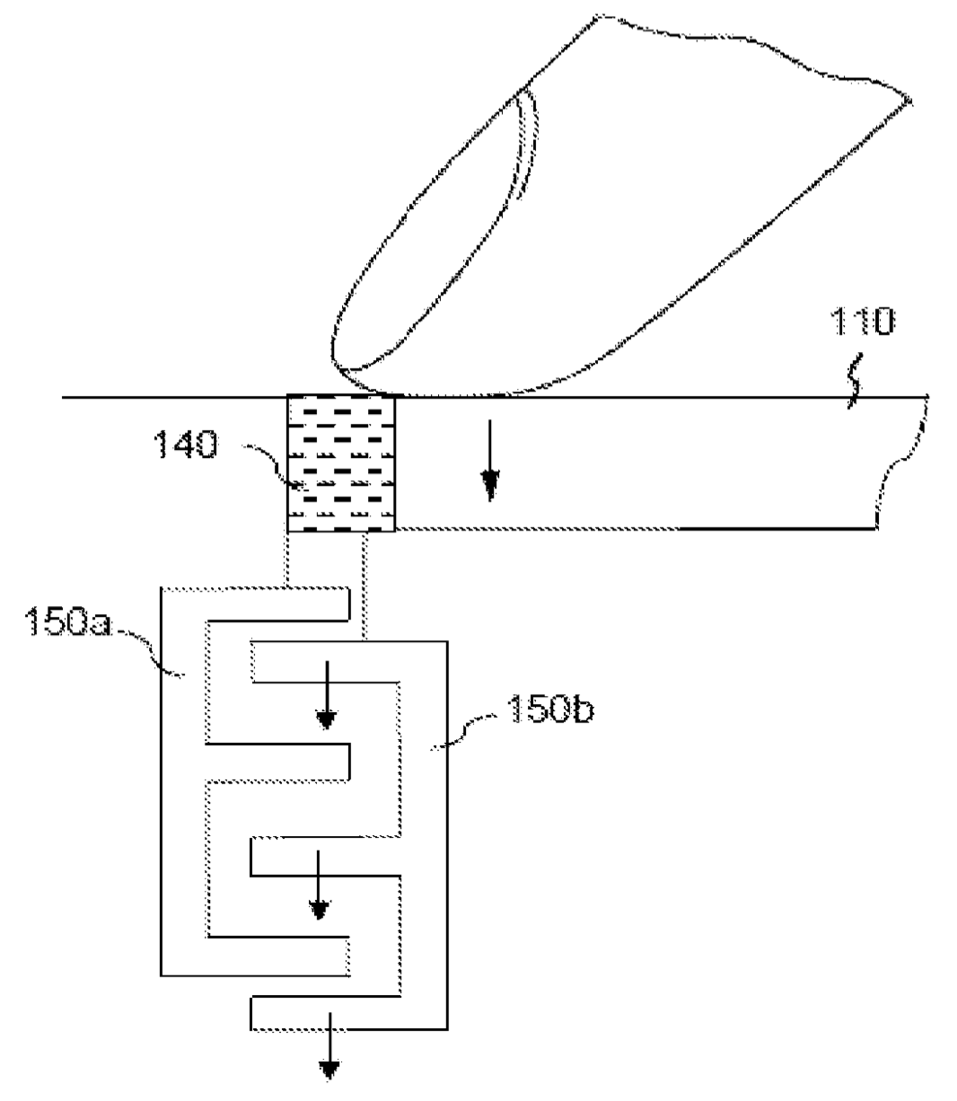 Apple patent force sensing Touch ID drawing 001