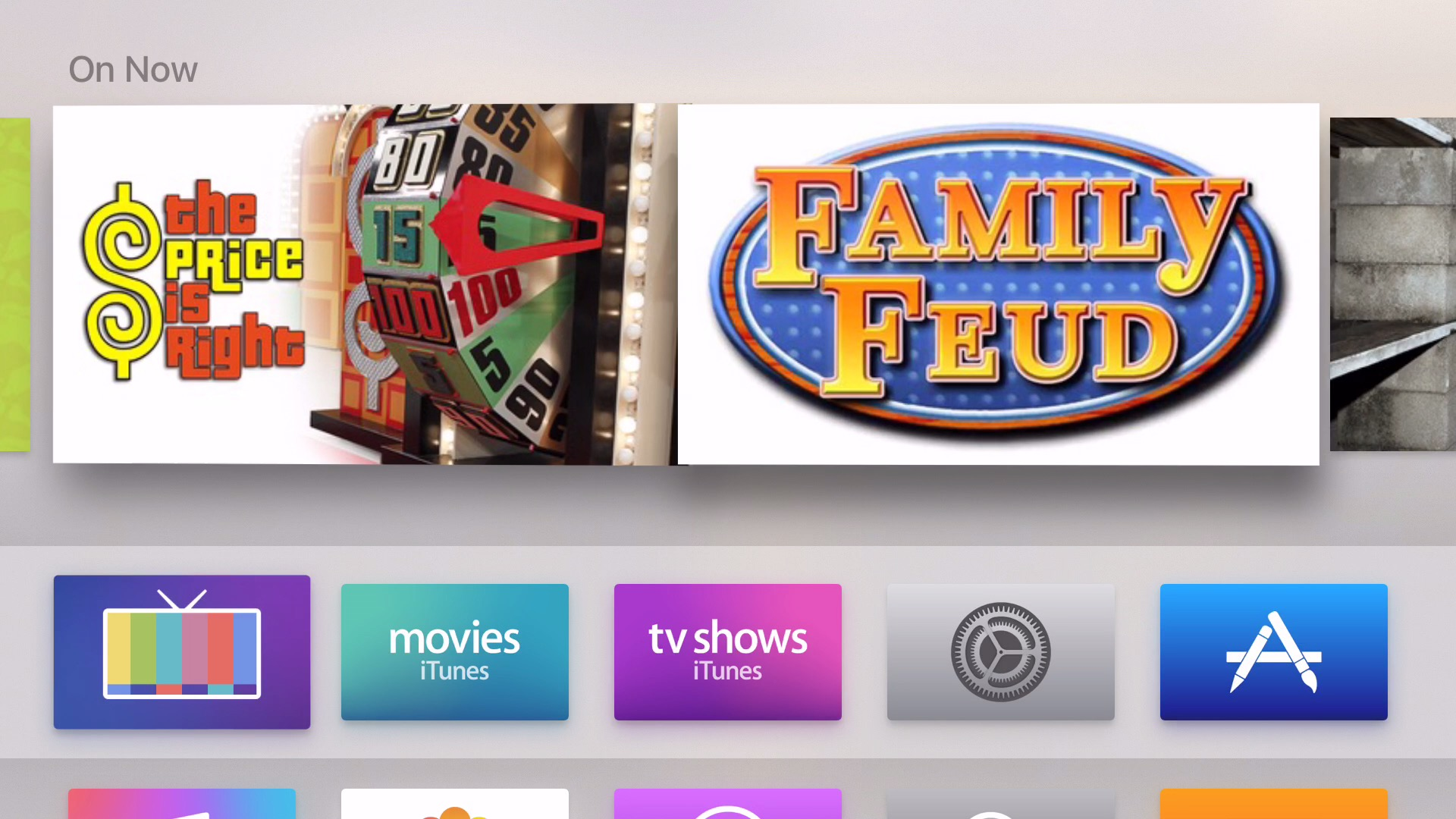 Channels Apple TV