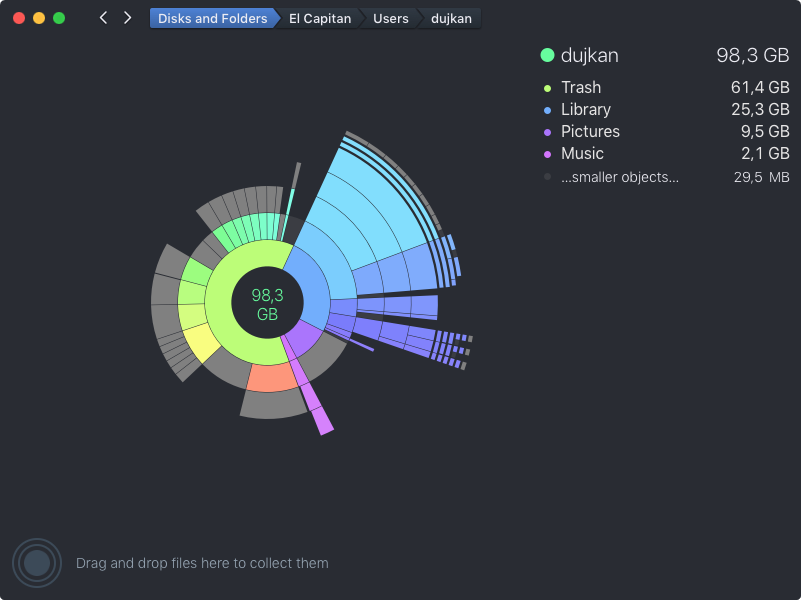 DaisyDisk 4.0 for OS X Mac screenshot 005