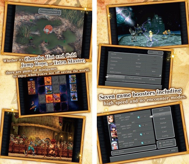 Final Fantasy IX for iOS iPhone screenshot 002